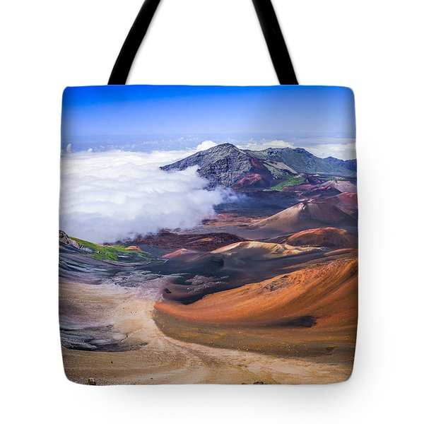 Haleakala Craters Maui Tote Bag