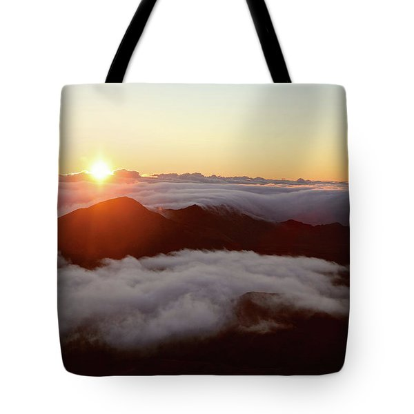 Tote Bag featuring the photograph Haleakala by Lucian Capellaro