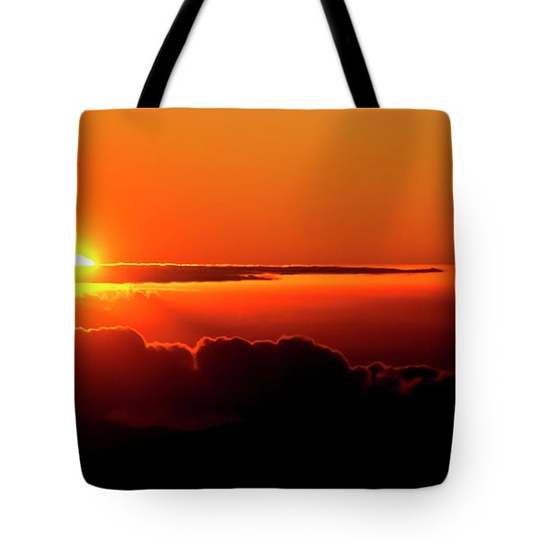 Maui Hawaii Haleakala National Park Sunrise IIi Tote Bag