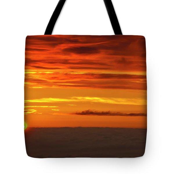 Haleakala Sunrise Vi Tote Bag