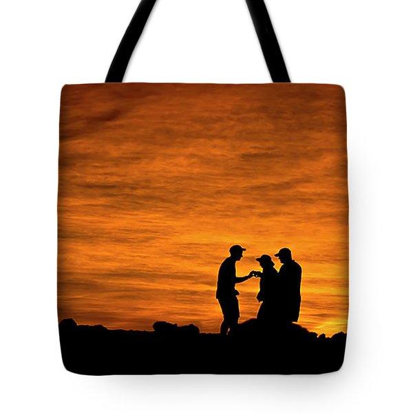 Haleakala Sunset Photo Assist Tote Bag