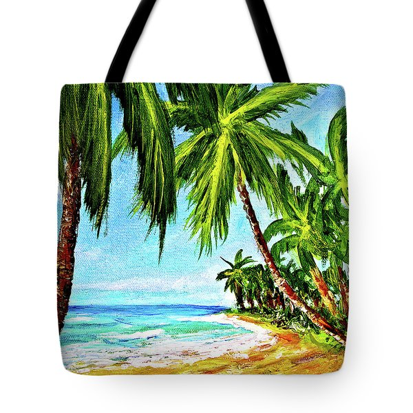 Haleiwa Beach #369 Tote Bag by Donald k Hall