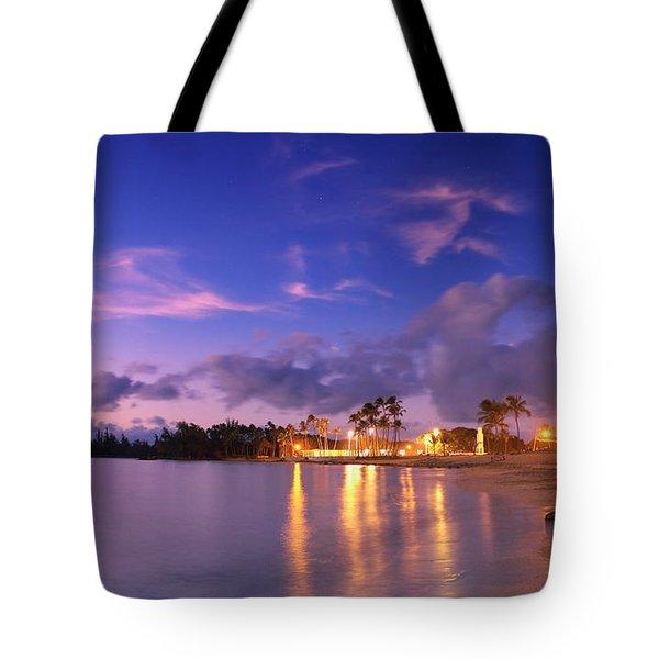 Hale'iwa Evening Tote Bag
