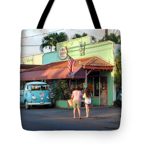 Hale'iwa Shops Tote Bag