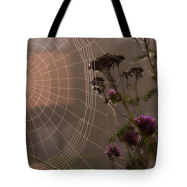 Half A Web Tote Bag