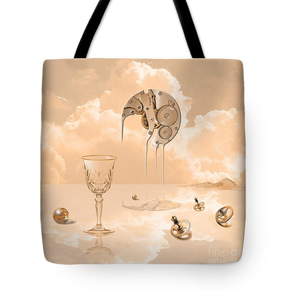 Beyond Time Tote Bag