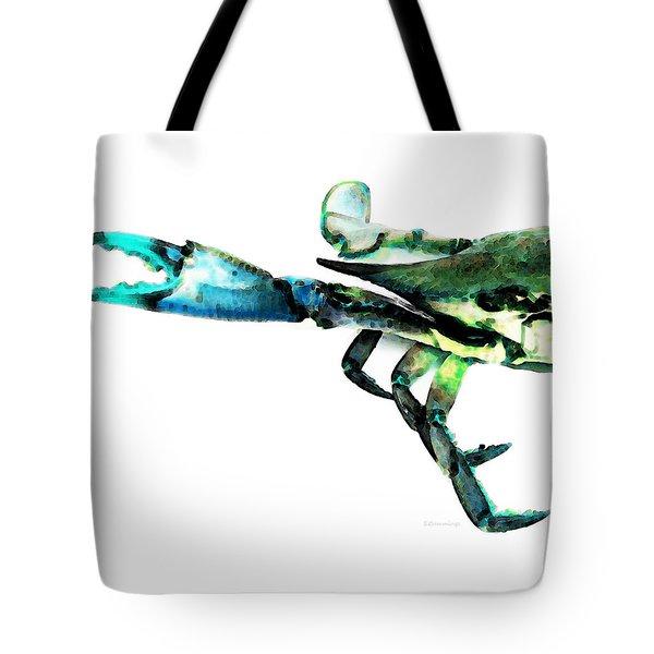 Half Crab - The Left Side Tote Bag