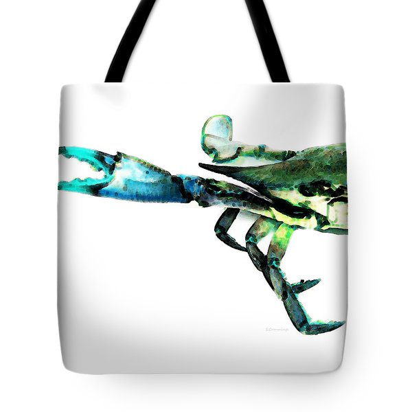 Half Crab - The Left Side Tote Bag