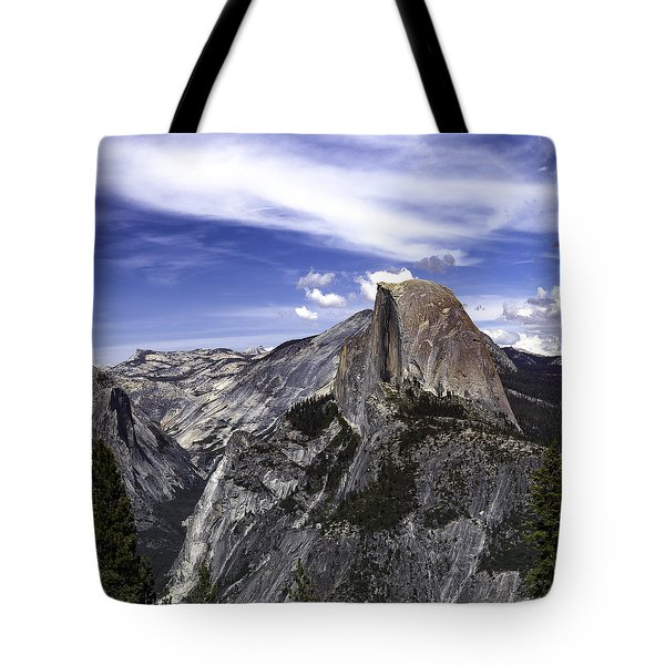 Tote Bag featuring the photograph Half Dome #7 by Phil Abrams