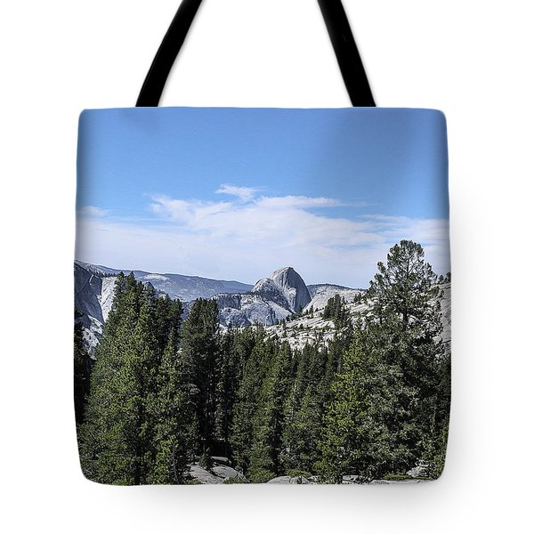 Half Dome From Olmstead Point Yosemite Valley Yosemite National Park Tote Bag