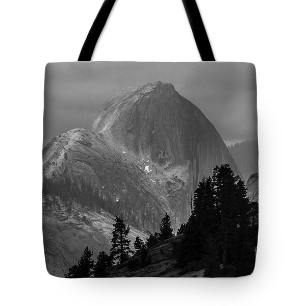 Half Dome In Yosemite Tote Bag