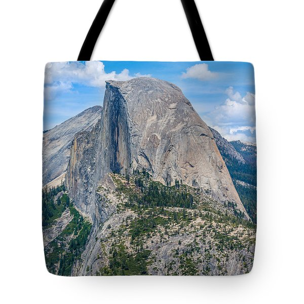 Tote Bag featuring the photograph Half Dome by Phil Abrams