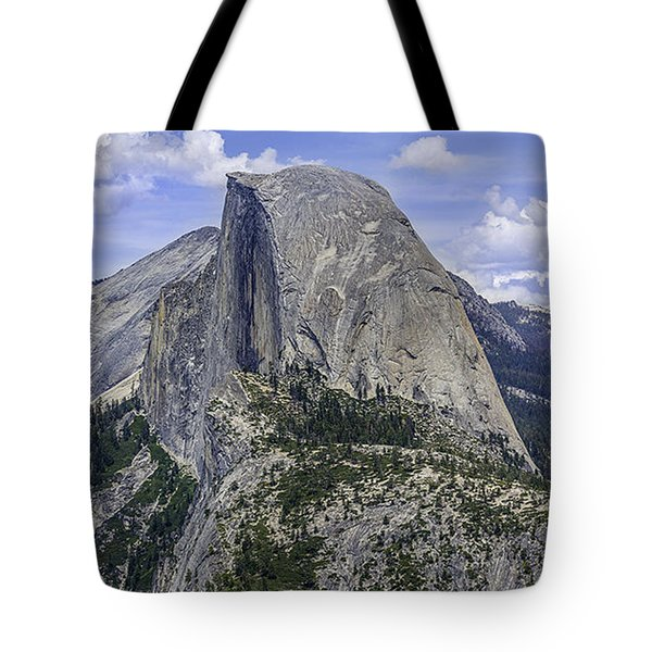 Tote Bag featuring the photograph Half Dome Thumb by Phil Abrams