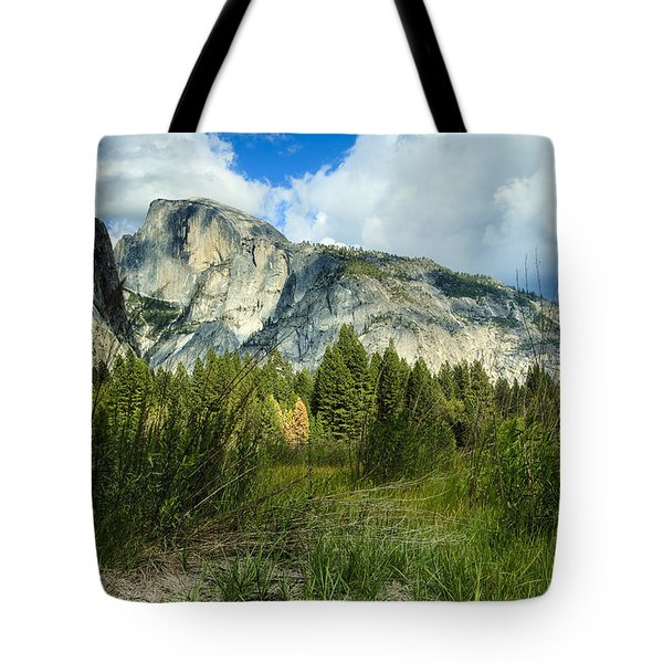 Half Dome Yosemite 3 Tote Bag