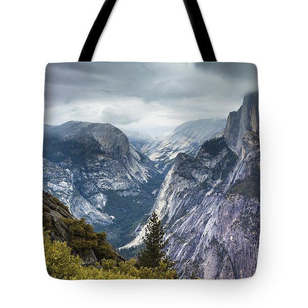 Half Dome Yosemite 4 Tote Bag