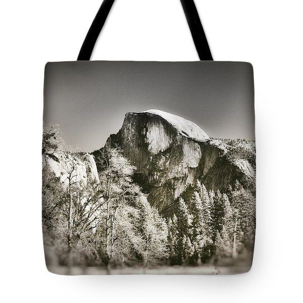Half Dome Yosemite Tote Bag by James Bethanis
