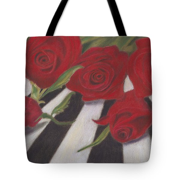 Tote Bag featuring the painting Half Dozen Red by Arlene Crafton