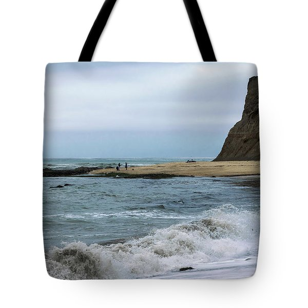 Half Moon Bay 5 Tote Bag by Steven Richman