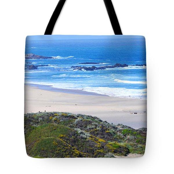 Half Moon Bay Tote Bag by Holly Blunkall