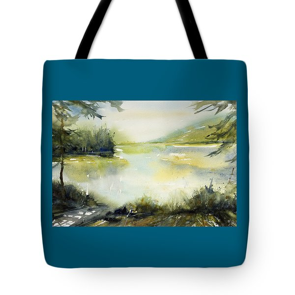 Half Moon Pond Tote Bag