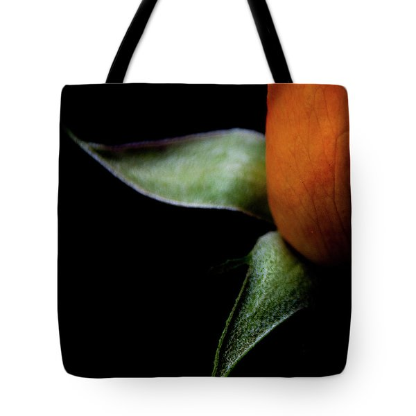 Tote Bag featuring the photograph Half Of A Rose by Julie Palencia