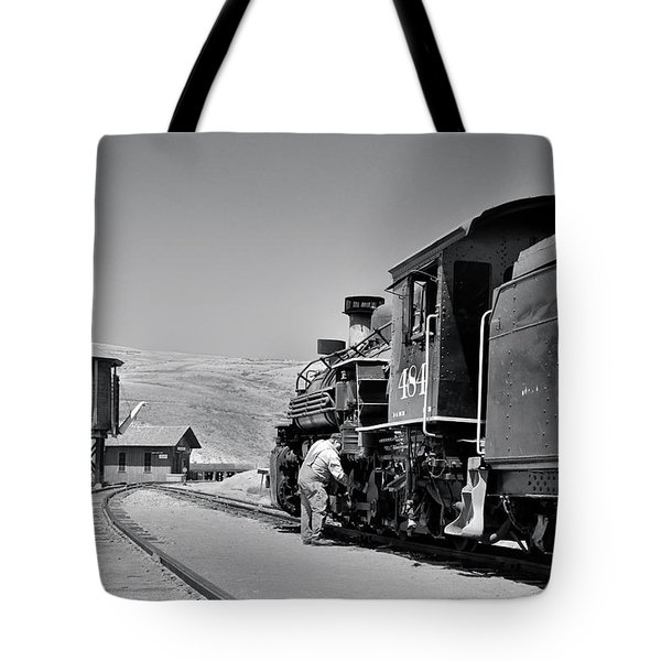 Half Way Tote Bag