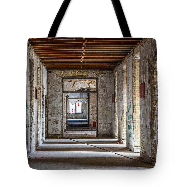 Hall To Patient Rooms Tote Bag