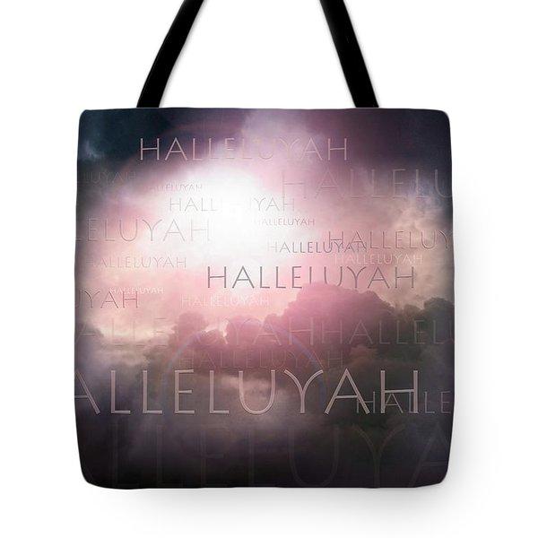 Halleluyah Tote Bag by Bill Stephens