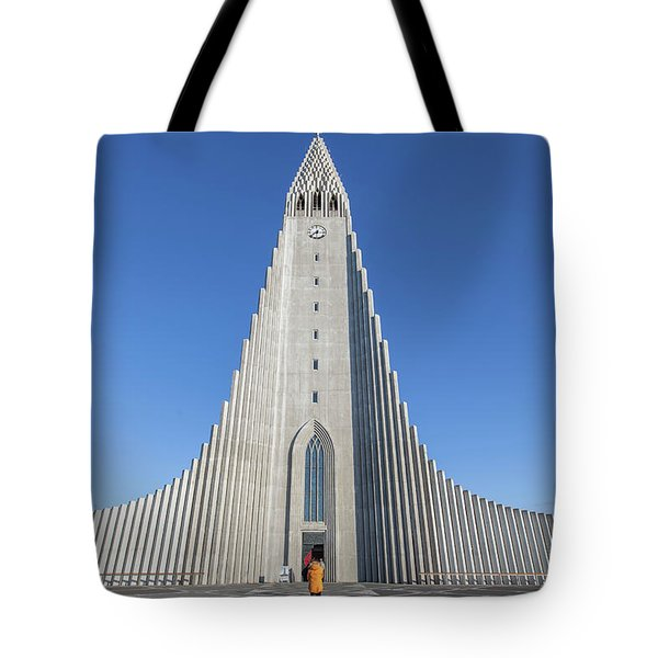 Hallgrimskirka Tote Bag by Wade Courtney