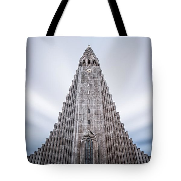 Hallgrimskirkja Cathedral Tote Bag