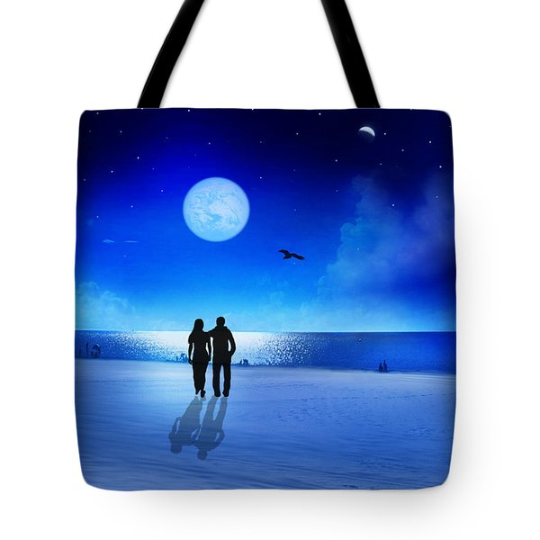Night Blessings Tote Bag