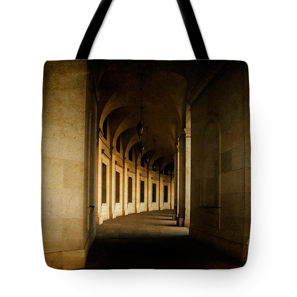 Hallowed Hall Tote Bag by Lois Bryan