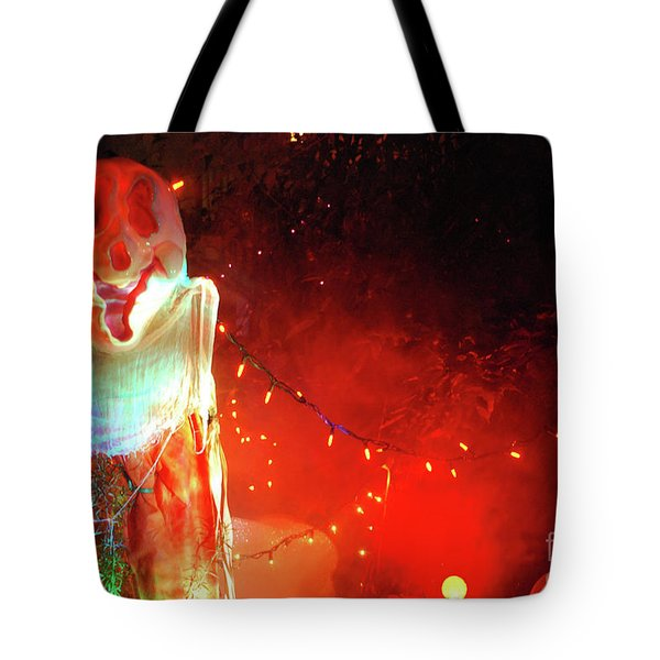Tote Bag featuring the photograph Halloween by Bill Thomson