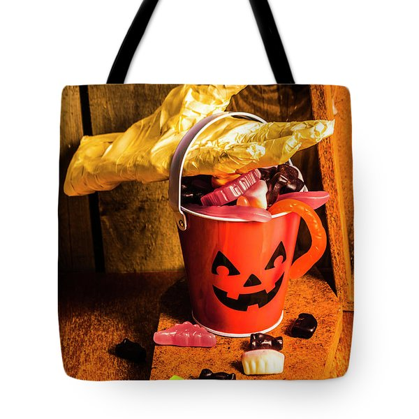 Halloween Candy Still Life Tote Bag