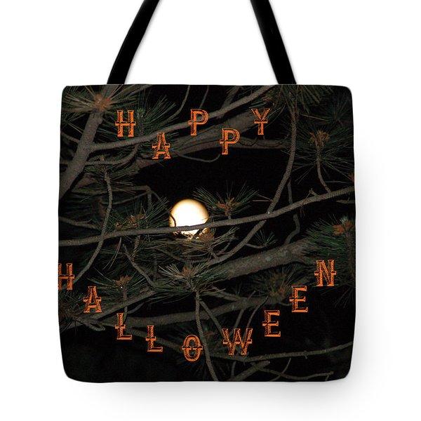 Halloween Card Tote Bag