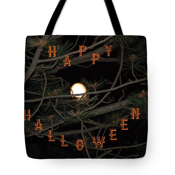 Halloween Card Tote Bag