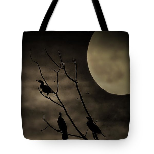 Guardians Of The Lake Tote Bag by Elizabeth Winter