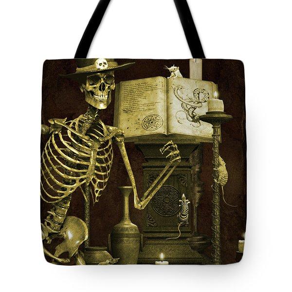 Halloween Graveyard-d Tote Bag