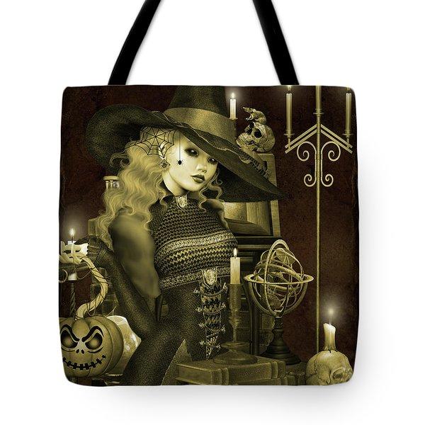 Halloween Graveyard-e Tote Bag