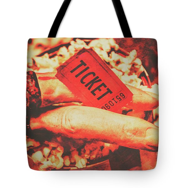 Halloween Horror Film Event Tote Bag