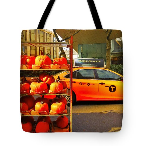 Halloween In New York  Tote Bag