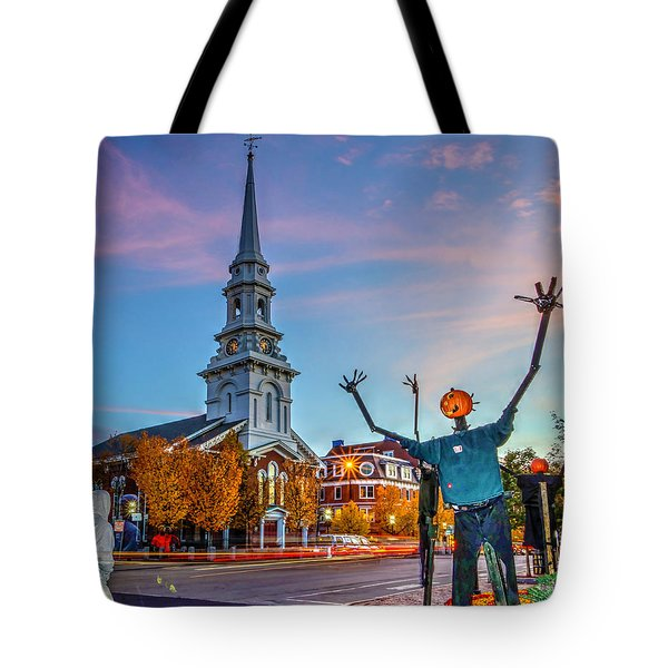 Halloween In Portsmouth 746 Tote Bag