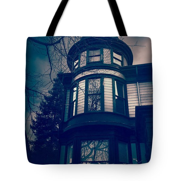 Halloween In The Park Tote Bag