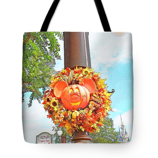 Halloween In Walt Disney World Tote Bag