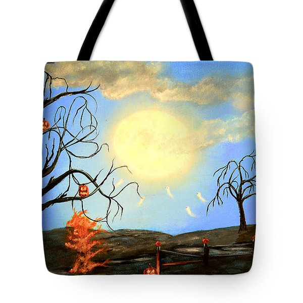 Halloween Night Two Tote Bag
