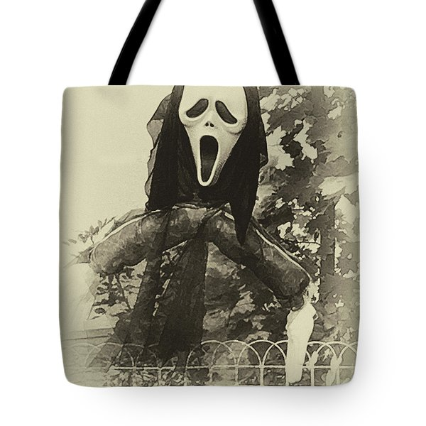 Halloween No 1 - The Scream  Tote Bag
