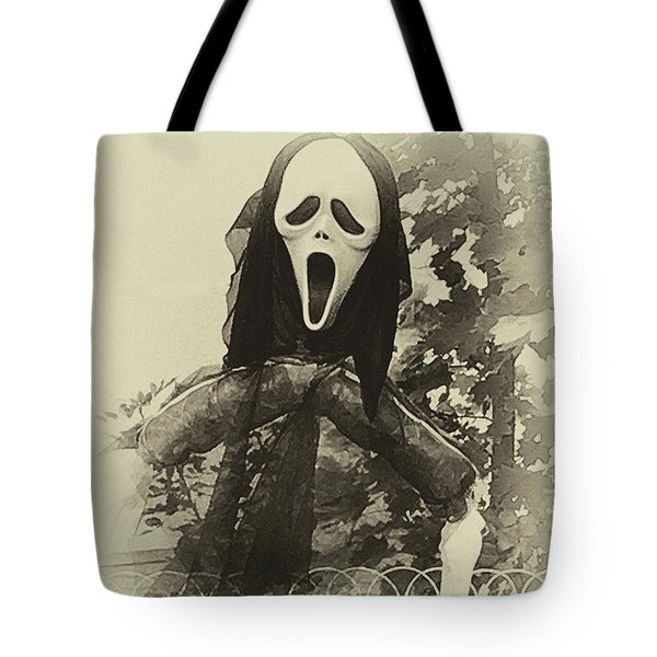 Halloween No 1 - The Scream  Tote Bag