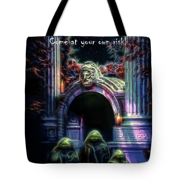 Halloween Party Invitation - The Gate Keeper Tote Bag