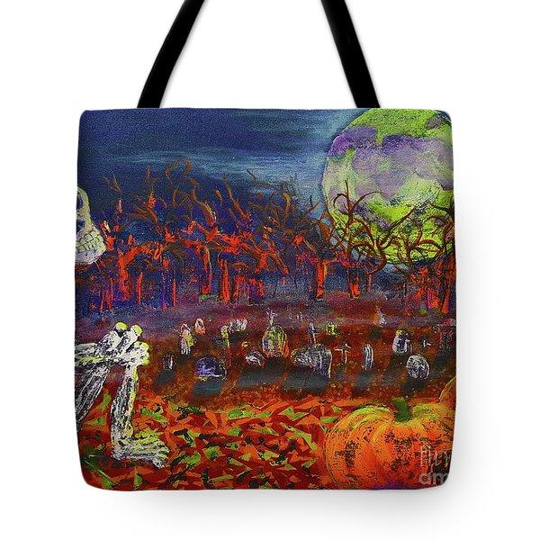 Halloween Serenity Tote Bag