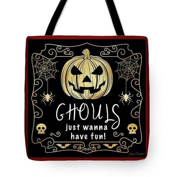 Halloween Sign 6 Tote Bag